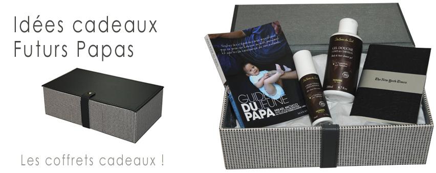 boite cadeau pour futur papa. Black Bedroom Furniture Sets. Home Design Ideas